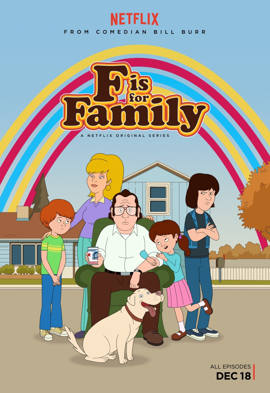F is for Family (#1 of 3): Extra Large Movie Poster Image.