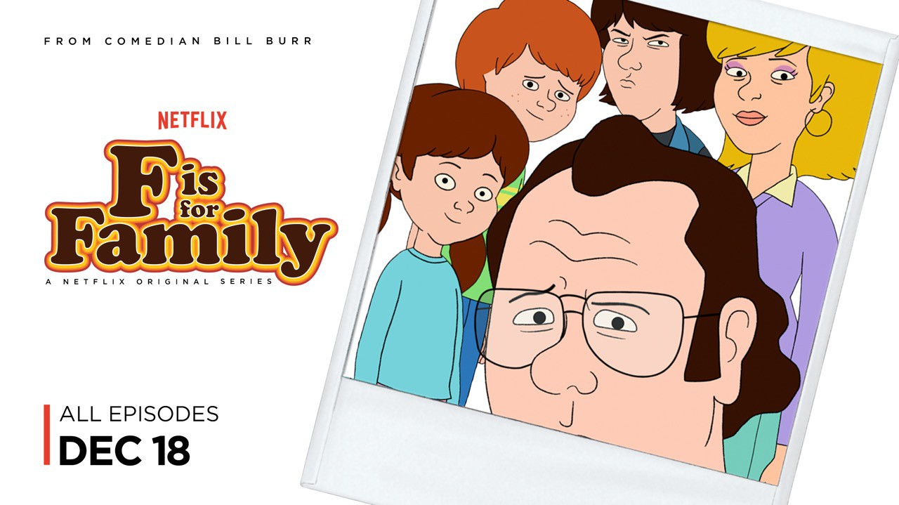 F is for Family (#2 of 3): Extra Large Movie Poster Image.