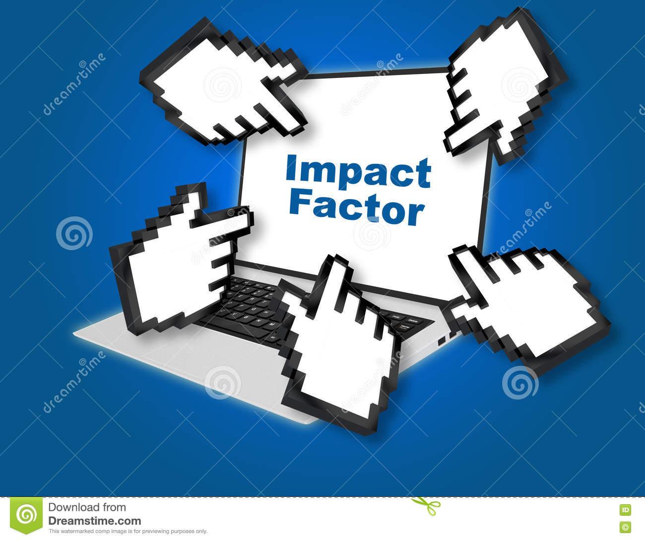 Impact Factor Concept Stock Illustration.