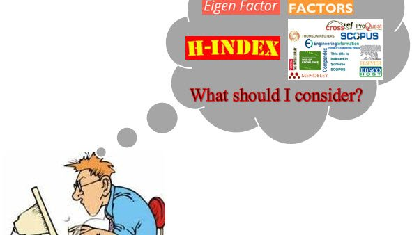 Impact Factor: Is That All for Deciding a Journal?.