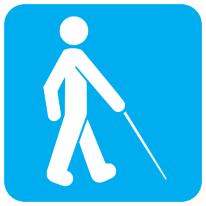 Blue Visually Impaired Clip Art at Clker.com.