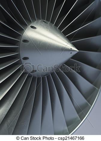 Stock Image of Impeller turbine close up shot csp21467166.