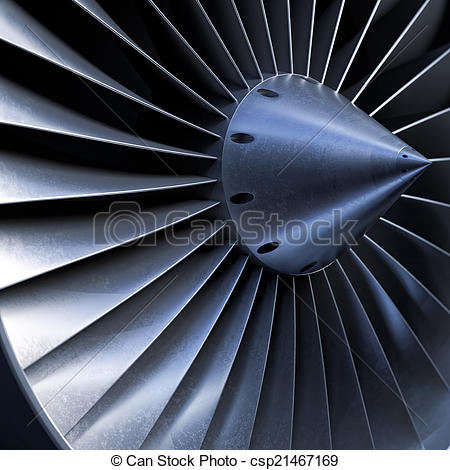 Stock Image of Impeller turbine close up shot csp21467169.
