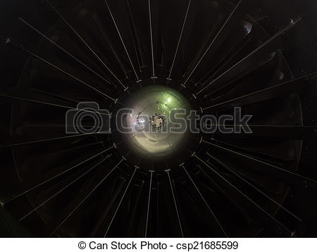 Stock Photographs of Impeller turbine close up shot csp21685599.