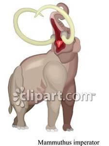 Mammuthus Imperator Dinosaur.