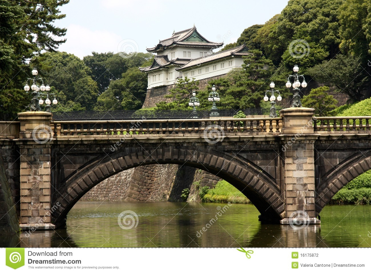 Tokyo Imperial Palace, Japan Stock Photography.