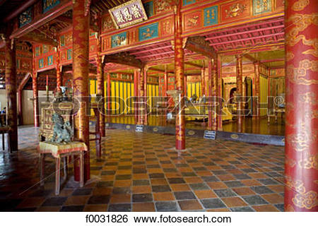 Stock Images of Vietnam, Hue, Imperial city. f0031826.