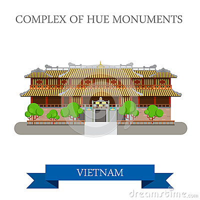 Imperial City Aka Complex Of Hue Monuments In Vietnam Attraction.