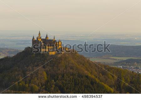 Burg Castle Hohenzollern Hohenzollern Stock Photos, Royalty.