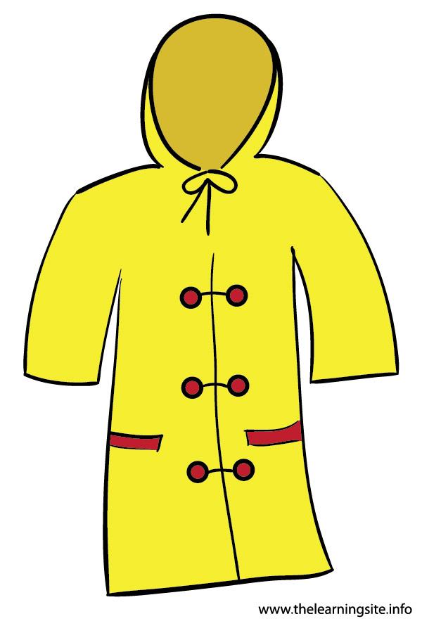 Rain Coat Clip Art.