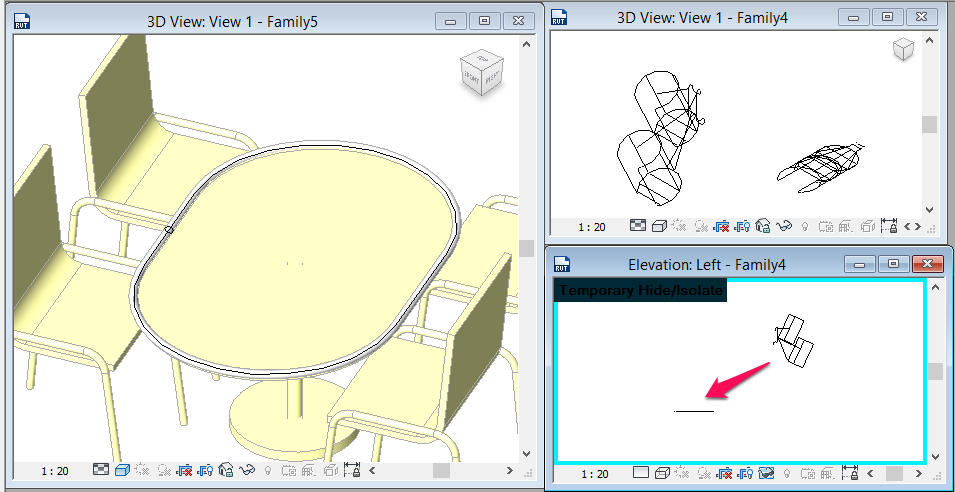 3D wireform sweep from AutoCad lines.