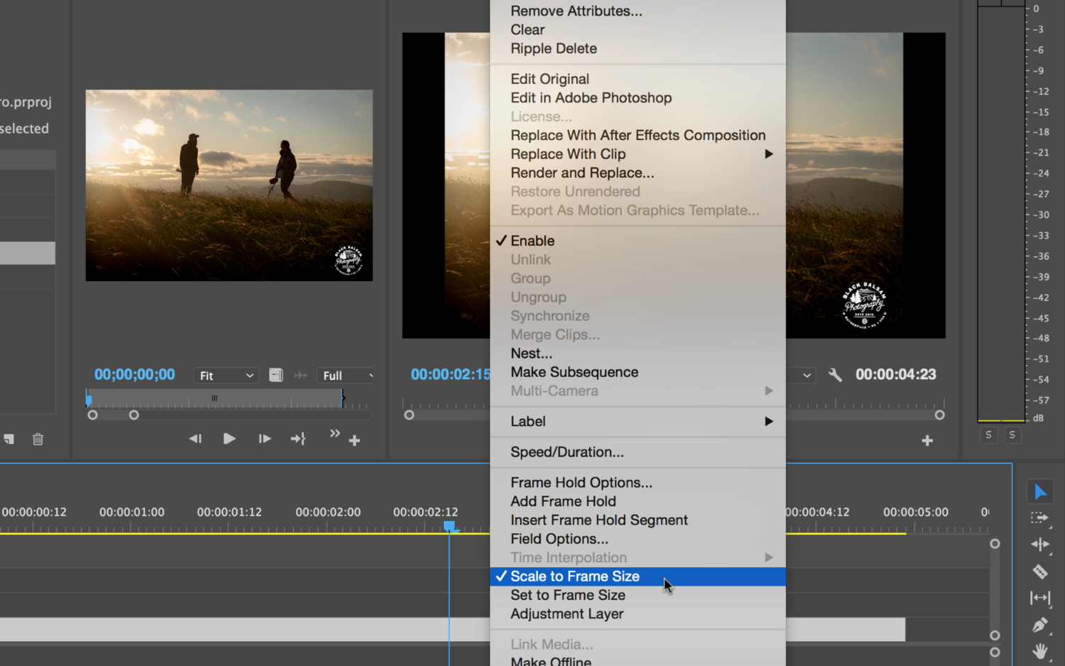 Seven Tips When Working With Photos in Adobe Premiere Pro.