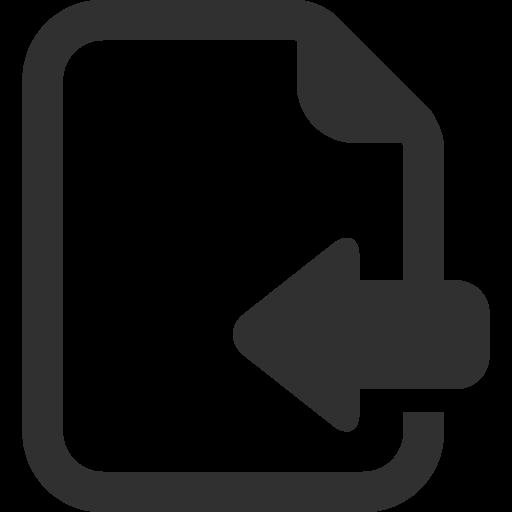Import Icon.