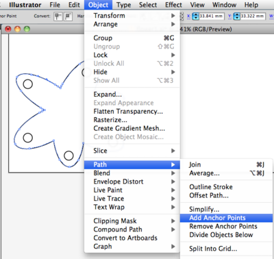 From Illustrator to Eagle: Vector graphics in circuits.