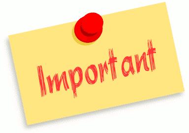 Importance clipart #8