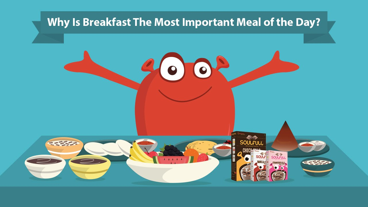Why is a Healthy Breakfast the Most Important Meal of the Day.