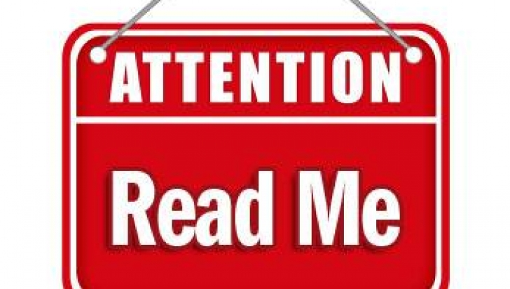 Attention clipart important news, Attention important news.