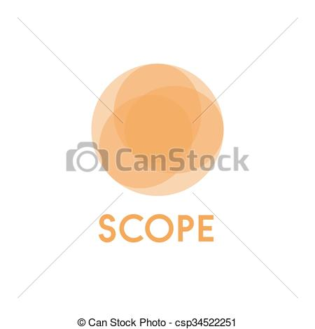 Clipart Vector of Circles background illustration spheres business.