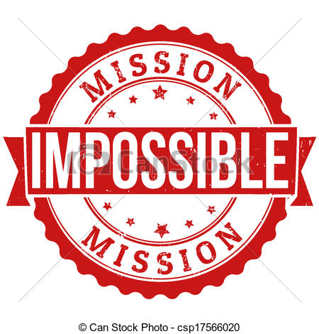Impossible clipart #11