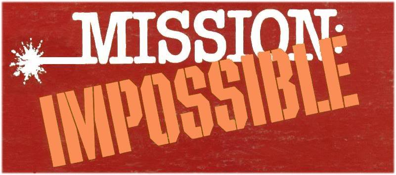 Mission impossible clipart.