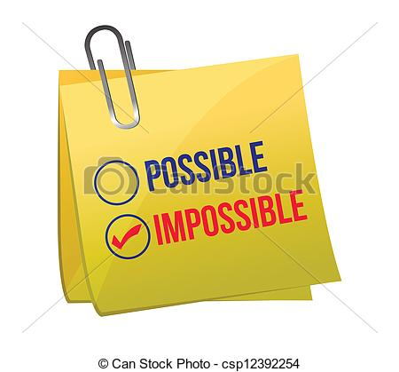 Impossible clipart #16