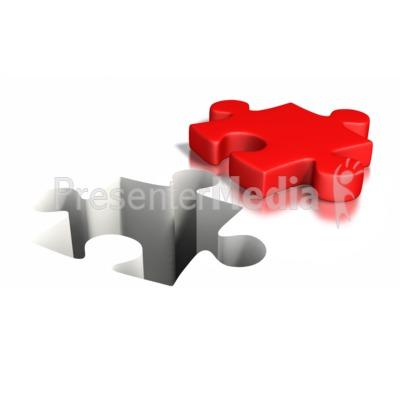 Puzzle Piece Impression.