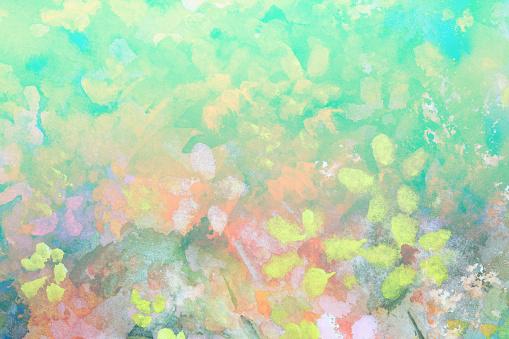 Impressionist art clipart.