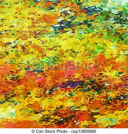 Stock Illustration of Abstract impressionist.