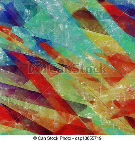 Clipart of Abstract impressionist.