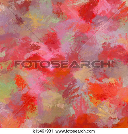 Clipart of Computer designed impressionist style vintage texture.