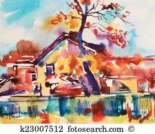 Impressionistic Clipart EPS Images. 22 impressionistic clip art.