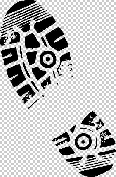 Tennis Shoe Imprint Clipart.