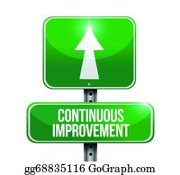Continuous Improvement Clip Art.