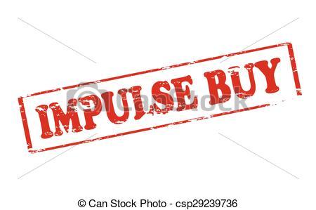 Vectors of Impulse buy.