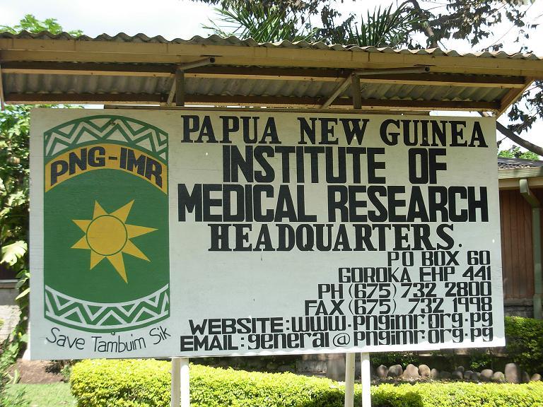 Papua New Guinea Institute of Medical Research.