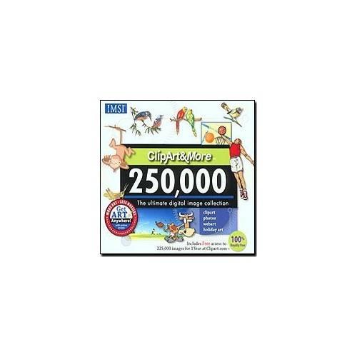 IMSI, 3420, ClipArt&More 250,000 : Software.