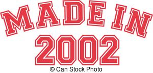 2002 Clip Art Vector and Illustration. 9 2002 clipart vector EPS.