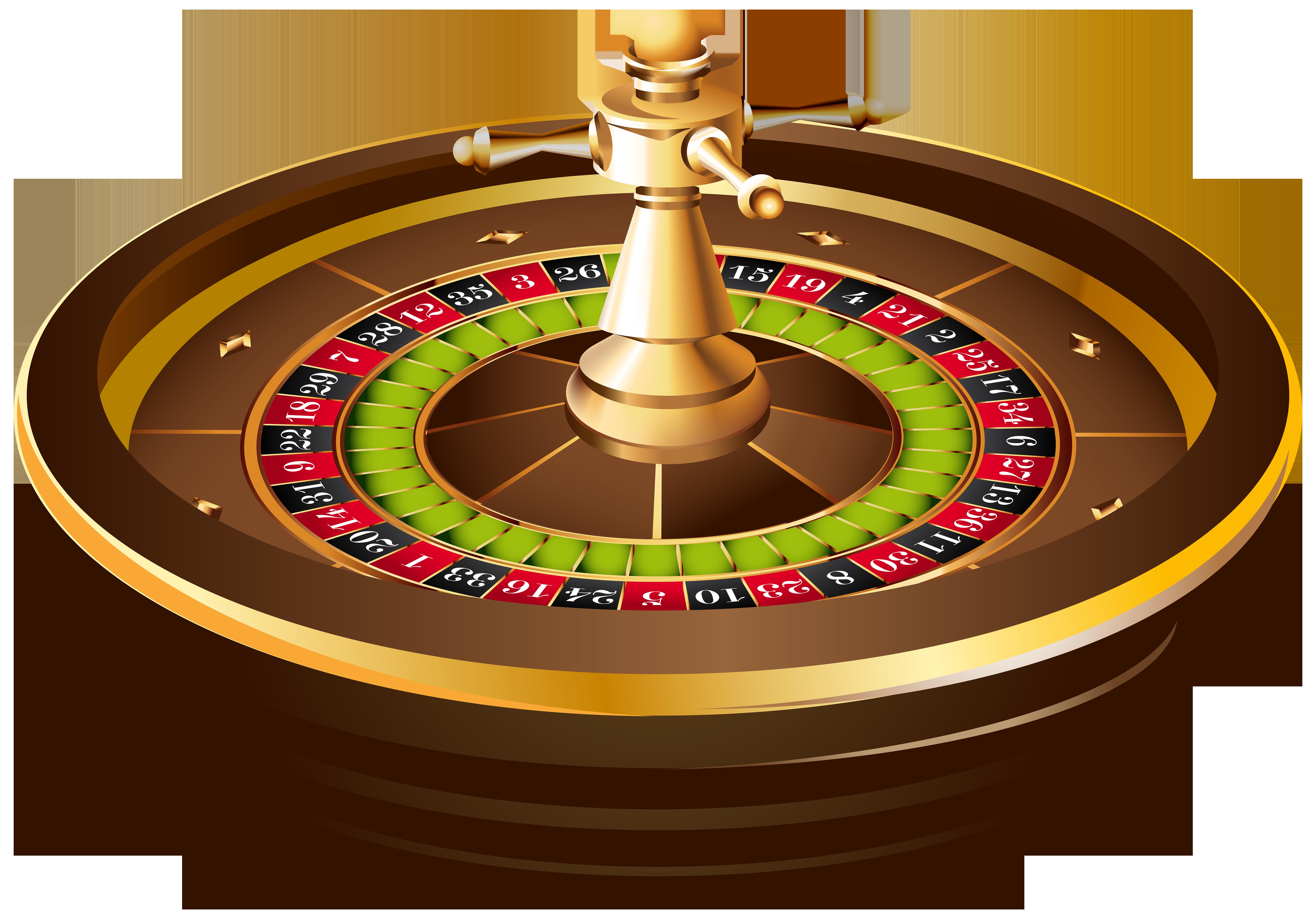 Casino Roulette PNG Clip Art.