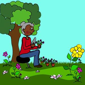Garden Clip Art Free.