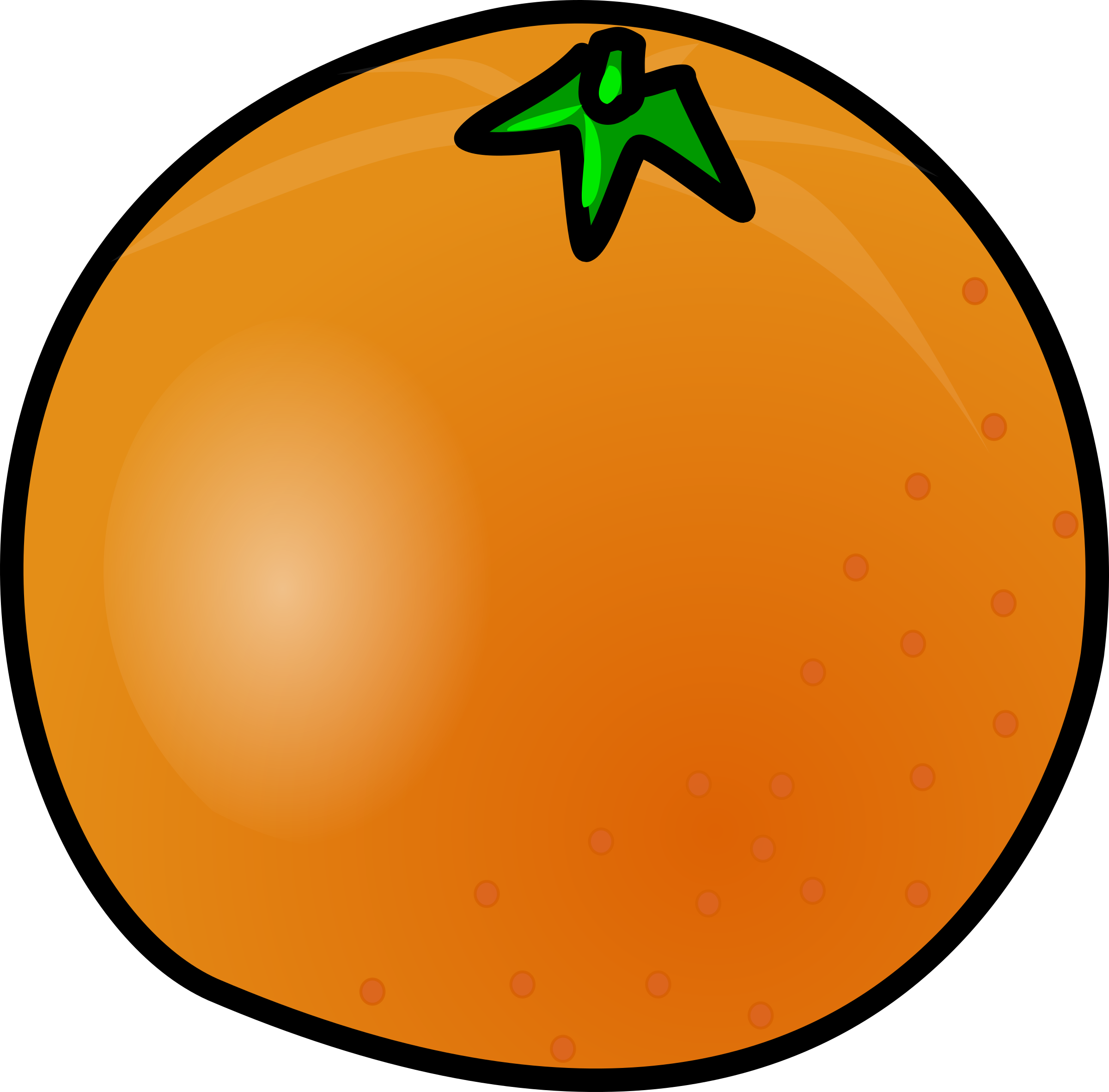 Showing post & media for Big orange cartoon.