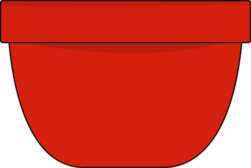 Red Bowl Clip Art.