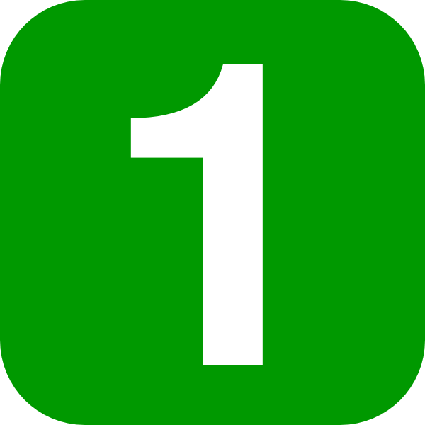 Number In Green Rounded Square Clip Art at Clker.com.
