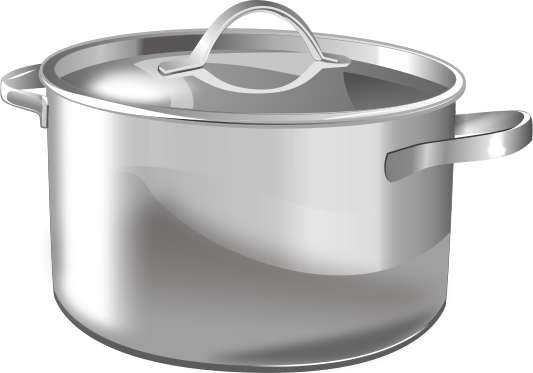 Clipart of a pot.