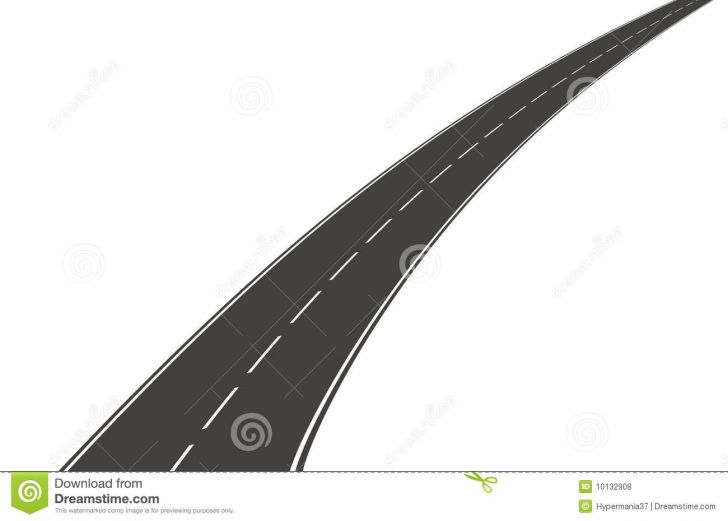 Winding Road Graphic.