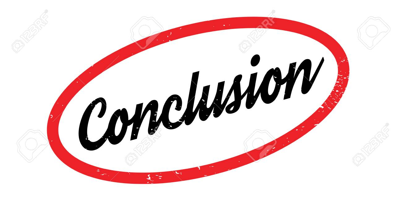 Conclusion clipart stamp, Conclusion stamp Transparent FREE.