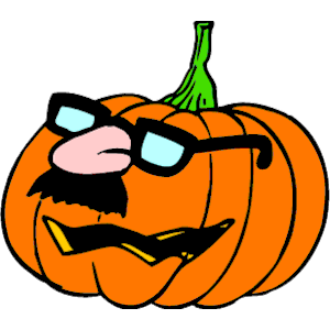 Pumpkin in Disguise clipart, cliparts of Pumpkin in Disguise free.