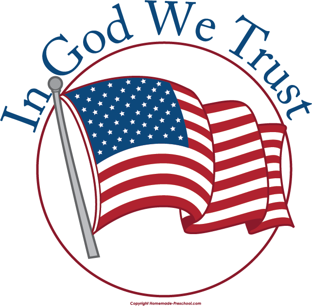 In god we trust clipart.