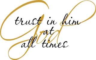 Trust in god clipart.
