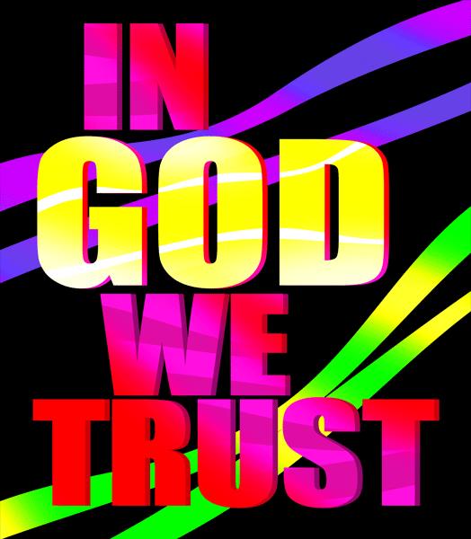 Trust god clipart.