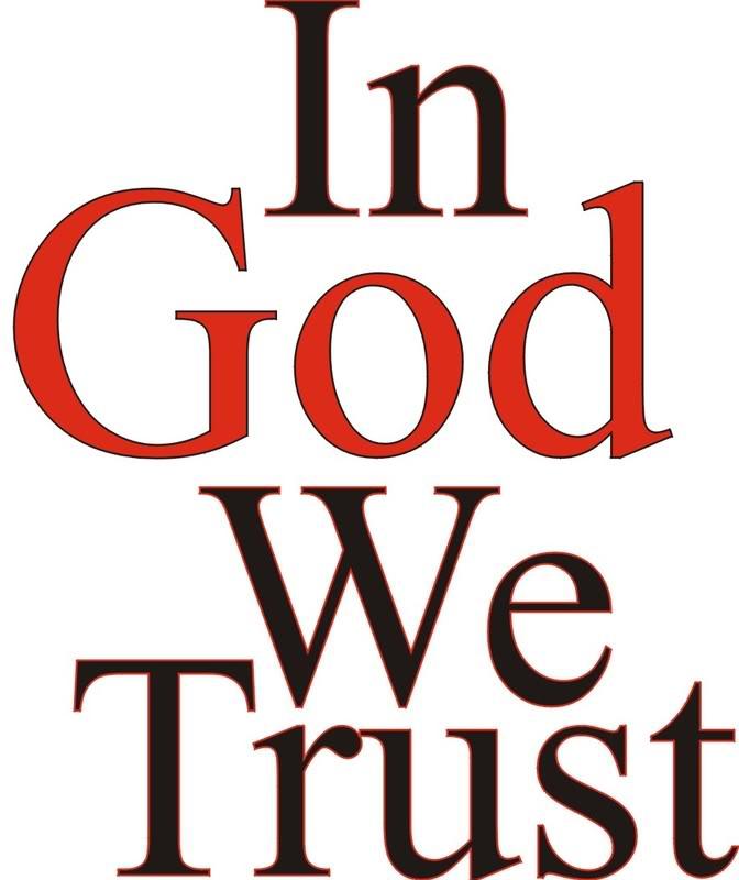 In God We Trust Clip Art.